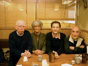 William Elliott, Kazuo Kawamura, Myself and Tanikawa