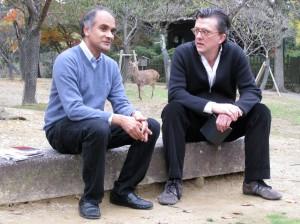 Pico Iyer and Kurt