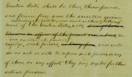 Emancipation Proclamation p. 2